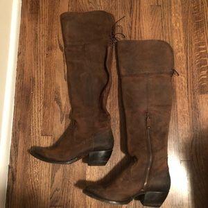 Frye Sasha over the knee boots